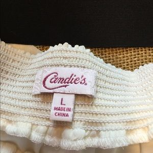Candie's Skirts - Candie's black lace and light cream skirt